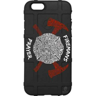 Magpul Field Case for iPhone 6,6s,or 6 PLUS. Custom Fireman's Prayer EgoTactical