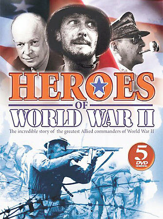 World War II - Heroes (DVD, 2008, 5-Disc Set)