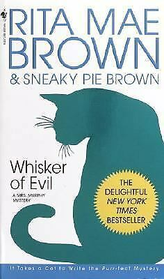 Whisker of Evil: A Mrs. Murphy Mystery by Rita Mae Brown
