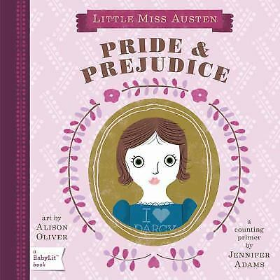 Pride & Prejudice: A BabyLit Counting Primer (BabyLit Books) (English and Engli