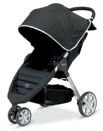 Britax Römer B-Agile Black Travel System Single Seat Stroller