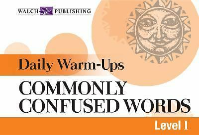 Daily Warm-ups For Commonly Confused Words (Daily Warm-Ups English/Language Arts