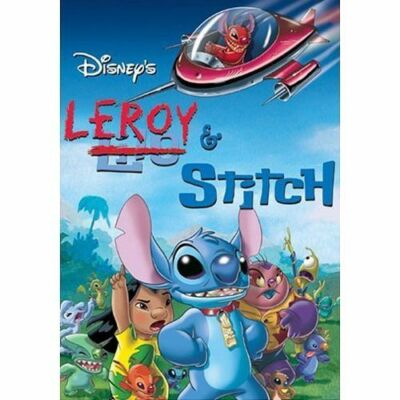 Leroy & Stitch, Very Good DVD, Ving Rhames, Zoe Caldwell, Jeff Bennett, Rob Paul