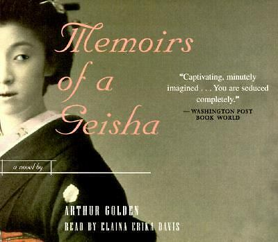 Memories of a Geisha by Arthur Golden CD Audiobook Audio Book Abridged