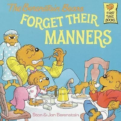 The Berenstain Bears Forget Their Manners, Berenstain, Jan, Berenstain, Stan, Go