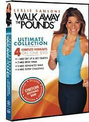 Leslie Sansone: Walk Away the Pounds Ultimate Collection, Very Good DVD, Leslie