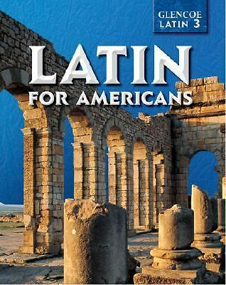 Latin for Americans Level 3 Student Edition, McGraw-Hill, Good Book