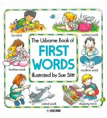 The Usborne Book of First Words, Jenny Tyler, Good Book