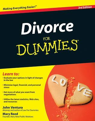 Divorce For Dummies - Reed, Mary, Ventura, John - Good Condition