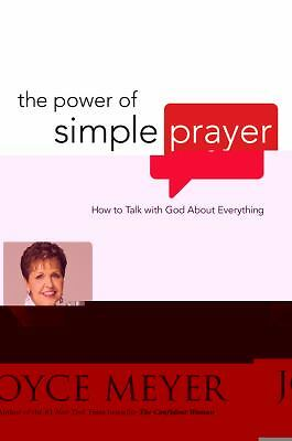 THE POWER OF SIMPLE PRAYER - JOYCE MEYER (HARDCOVER) NEW