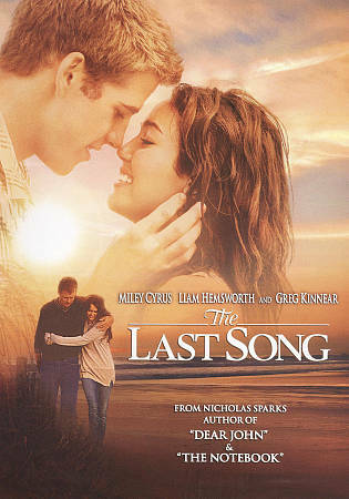 The Last Song, Very Good DVD, Nick Searcy, Kate Vernon, Carly Chaikin, Nick Lash