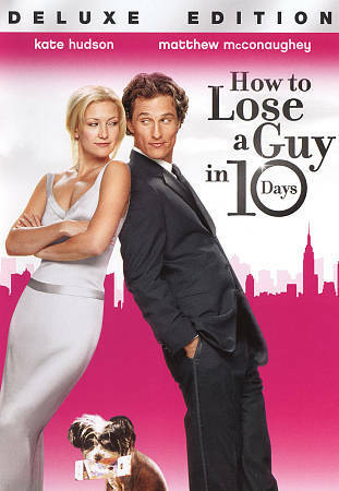 How to Lose a Guy in 10 Days (DVD, 2011, WS) Kate Hudson Matthew McConaughey NEW