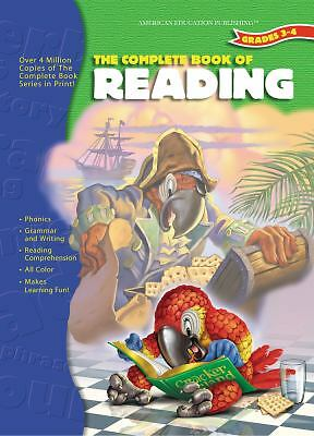 The Complete Book of Reading 3 & 4 (The Complete Book Series), Carson-Dellosa Pu