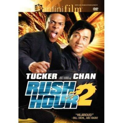 Rush Hour 2 (DVD, 2007, Special Edition) Jackie Chan Chris Tucker BRAND NEW