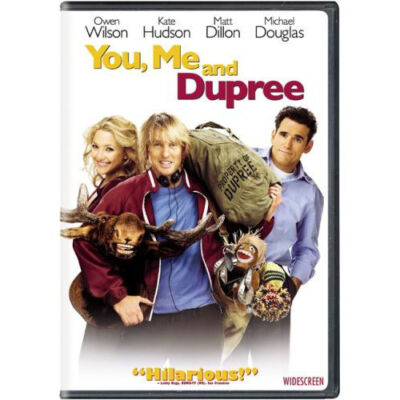 You, Me and Dupree (DVD, 2006 Widescreen) Kate Hudson Owen Wilson BRAND NEW
