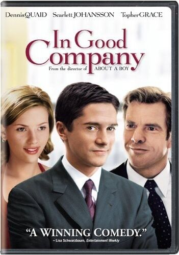 In Good Company (DVD, 2005, Widescreen) Topher Grace Dennis Quaid BRAND NEW