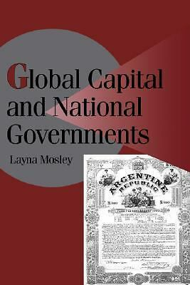 Global Capital and National Governments (Cambridge Studies in Comparative Politi