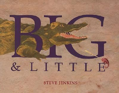 Big and Little, Jenkins, Steve, New Book