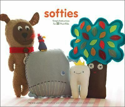 Softies: Simple Instructions for 25 Plush Pals, Laskey, Therese, Acceptable Book