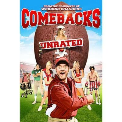 The Comebacks (DVD, 2008, Unrated) David Koechner WS BRAND NEW