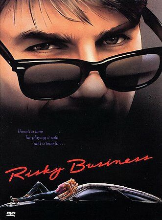 Risky Business (DVD, 1997) Tom Cruise Rebecca De Mornay BRAND NEW