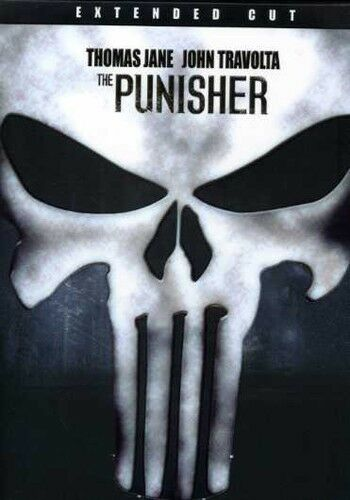 The Punisher (DVD, 2006, Special Edition; Extended Version) John Travolta NEW