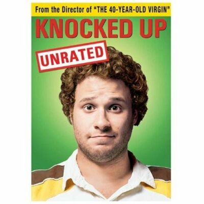 Knocked Up (DVD, 2007, Unrated and Unprotected; Widescreen) Seth Rogen BRAND NEW