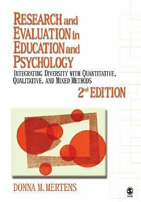 Research and Evaluation in Education and Psychology: Integrating Diversity with