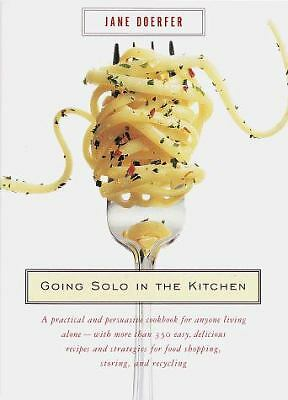 Going Solo in the Kitchen, Jane Doerfer, Good Book