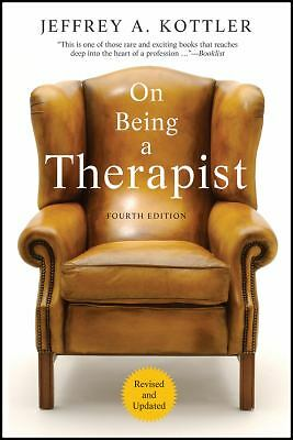 On Being a Therapist, 4th Edition, Kottler, Jeffrey A., Excellent Book