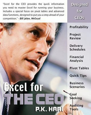 Excel for the CEO (Excel for Professionals series),Hari, P. K.,  Acceptable  Boo