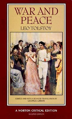 War and Peace (Second Edition)  (Norton Critical Editions), Leo Tolstoy, Accepta