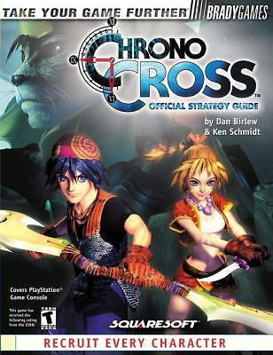 Chrono Cross Official Strategy Guide, Dan Birlew, Ken Schmidt, Acceptable Book