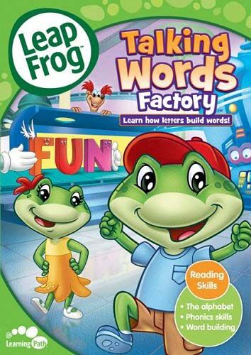 LeapFrog: Talking Words Factory, Very Good DVD, , Roy Allen Smith