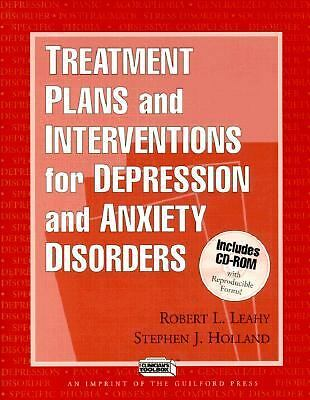 Treatment Plans and Interventions for Depression and Anxiety Disorders - Stephen