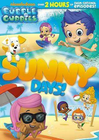 Bubble Guppies: Sunny Days!- DVD - Good Condition - ,