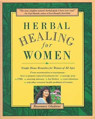 Herbal Healing for Women - Rosemary Gladstar - Very Good Condition