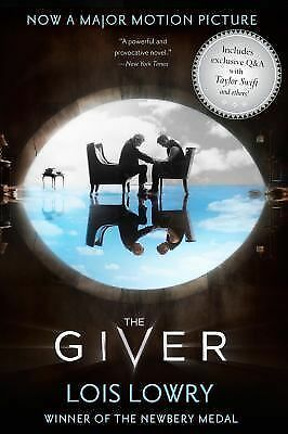 The Giver Movie Tie-In Edition (Giver Quartet) - Lowry, Lois - New Condition