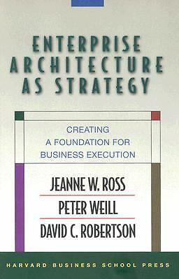 Enterprise Architecture As Strategy: Creating a Foundation for Business Executio
