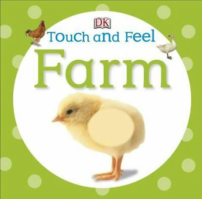 Touch and Feel: Farm (Touch & Feel), DK Publishing, Good Book