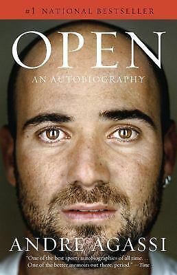 Open: An Autobiography (Vintage) - Andre Agassi - Good Condition