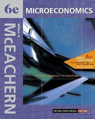 Microeconomics: A Contemporary Introduction Wall Street Journal Edition with Xtr