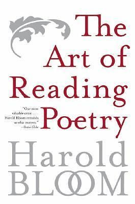 The Art of Reading Poetry,Bloom, Harold,  Acceptable  Book