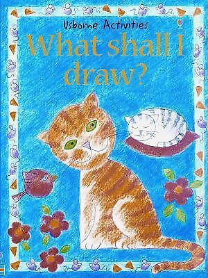 What Shall I Draw? (Usborne Activities), Gibson, Ray, Good Book