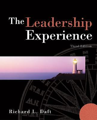 The Leadership Experience,Daft, Richard L.,  Acceptable  Book