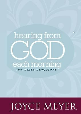 Hearing from God Each Morning: 365 Daily Devotions,Meyer, Joyce,  Acceptable  Bo