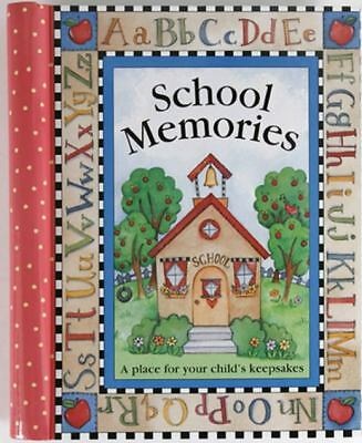 School Memories: A Place for Your Child's Keepsakes,n/a,  Good Book