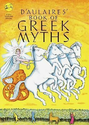 D'Aulaires' Book of Greek Myths,Ingri d'Aulaire, Edgar Parin d'Aulaire, Very Goo