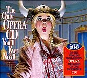 Only Opera CD You'll Ever Need / Cd Rom, Only Opera CD You'll Ever Need, Good En