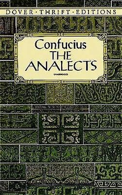 The Analects (Dover Thrift Editions) - Confucius - Acceptable Condition